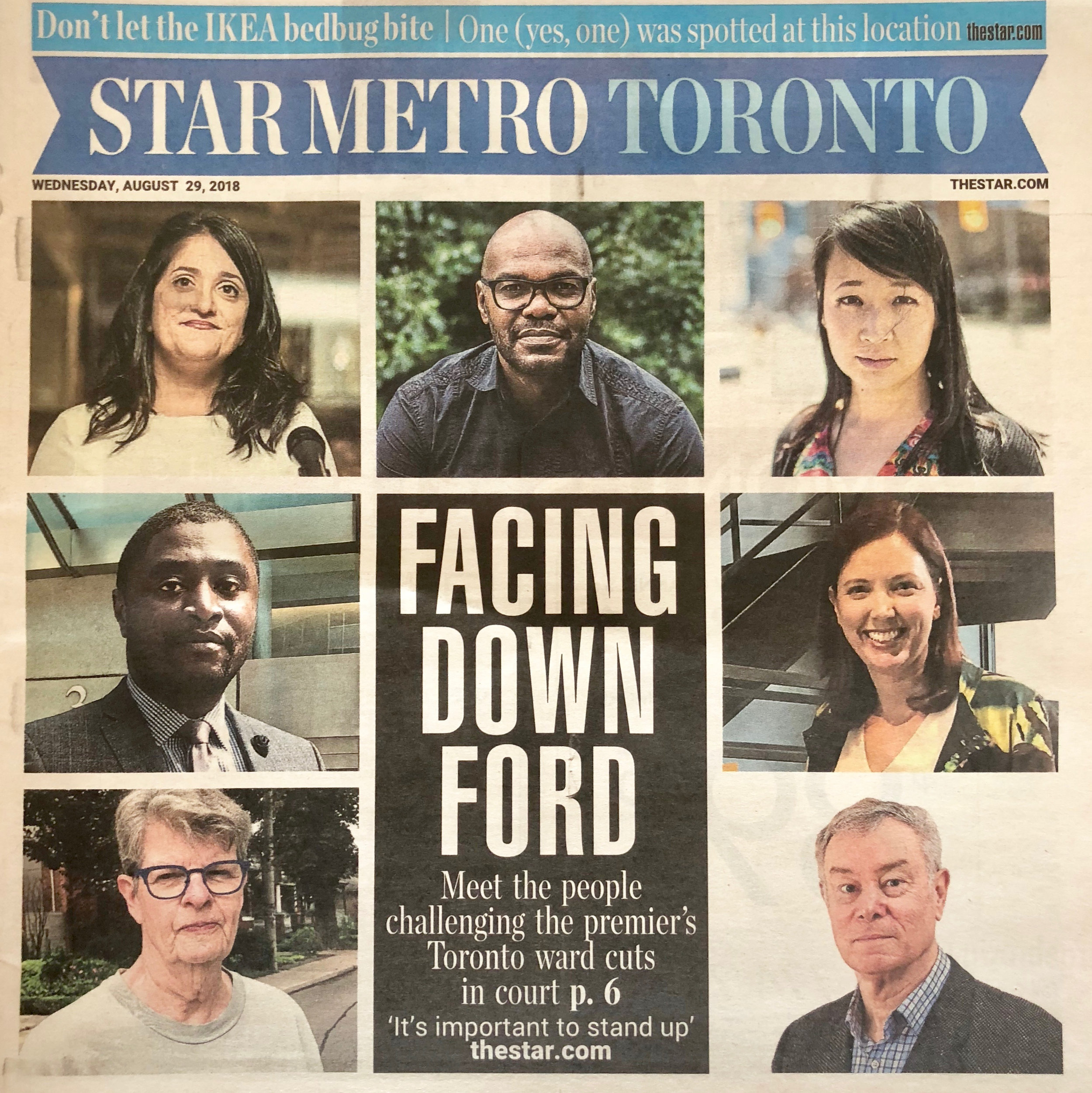 See their profile in the Toronto Star  to learn more about them.