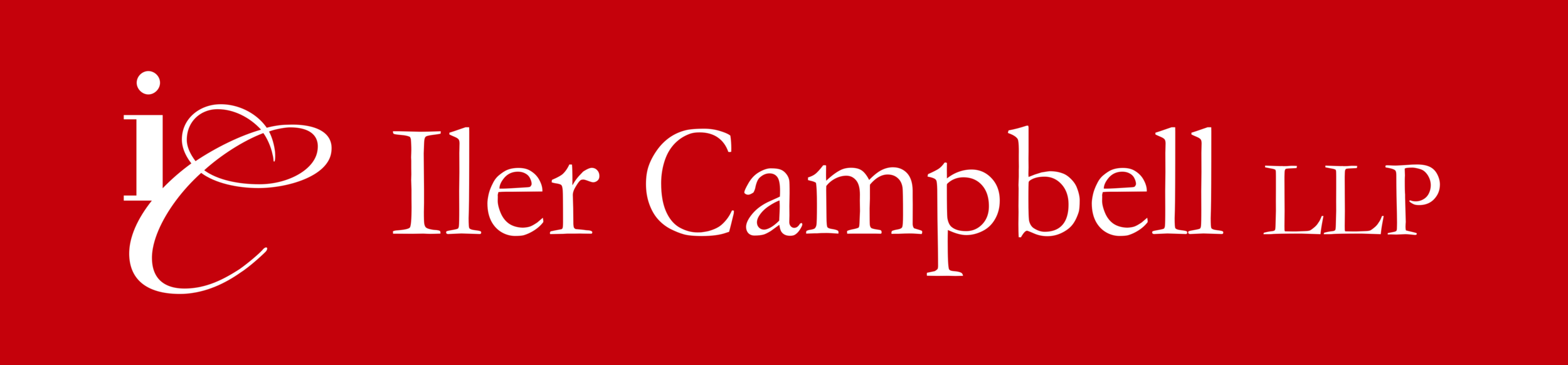 Iler Campbell logo - white on red.png