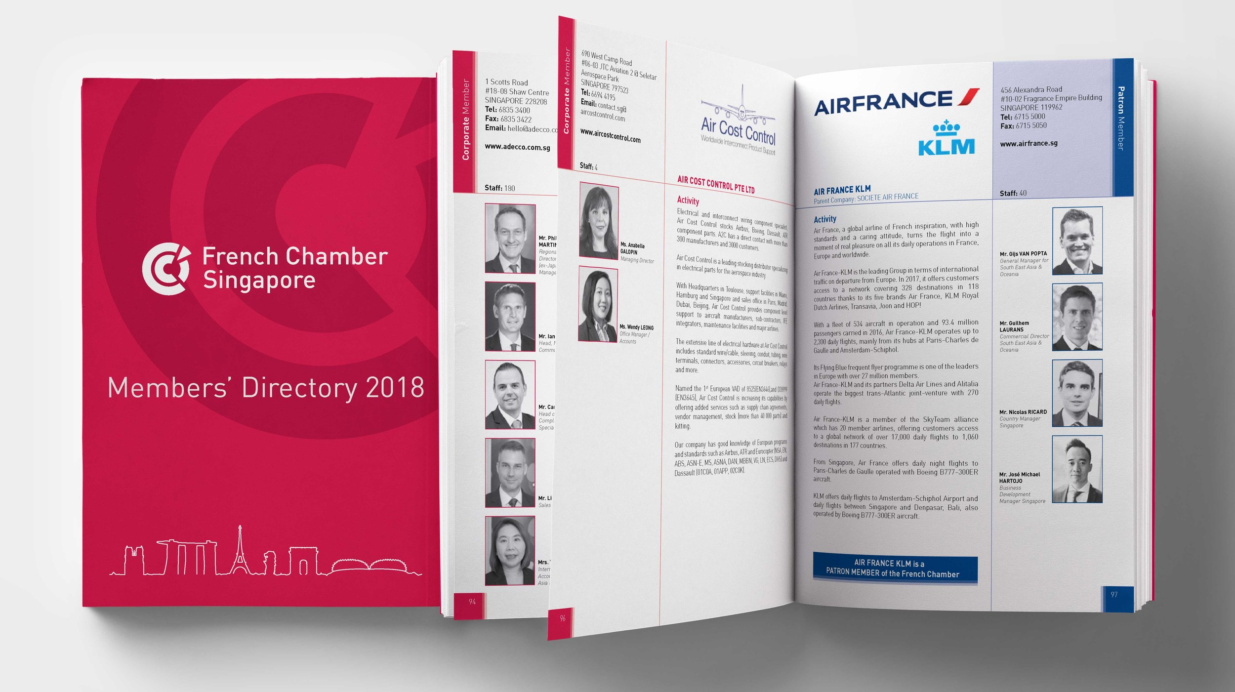 Members' Directory - A 800-page reference publication project-managed and designed by Leitmotif. This included directly liaising with contacts at 700 member companies, handling and