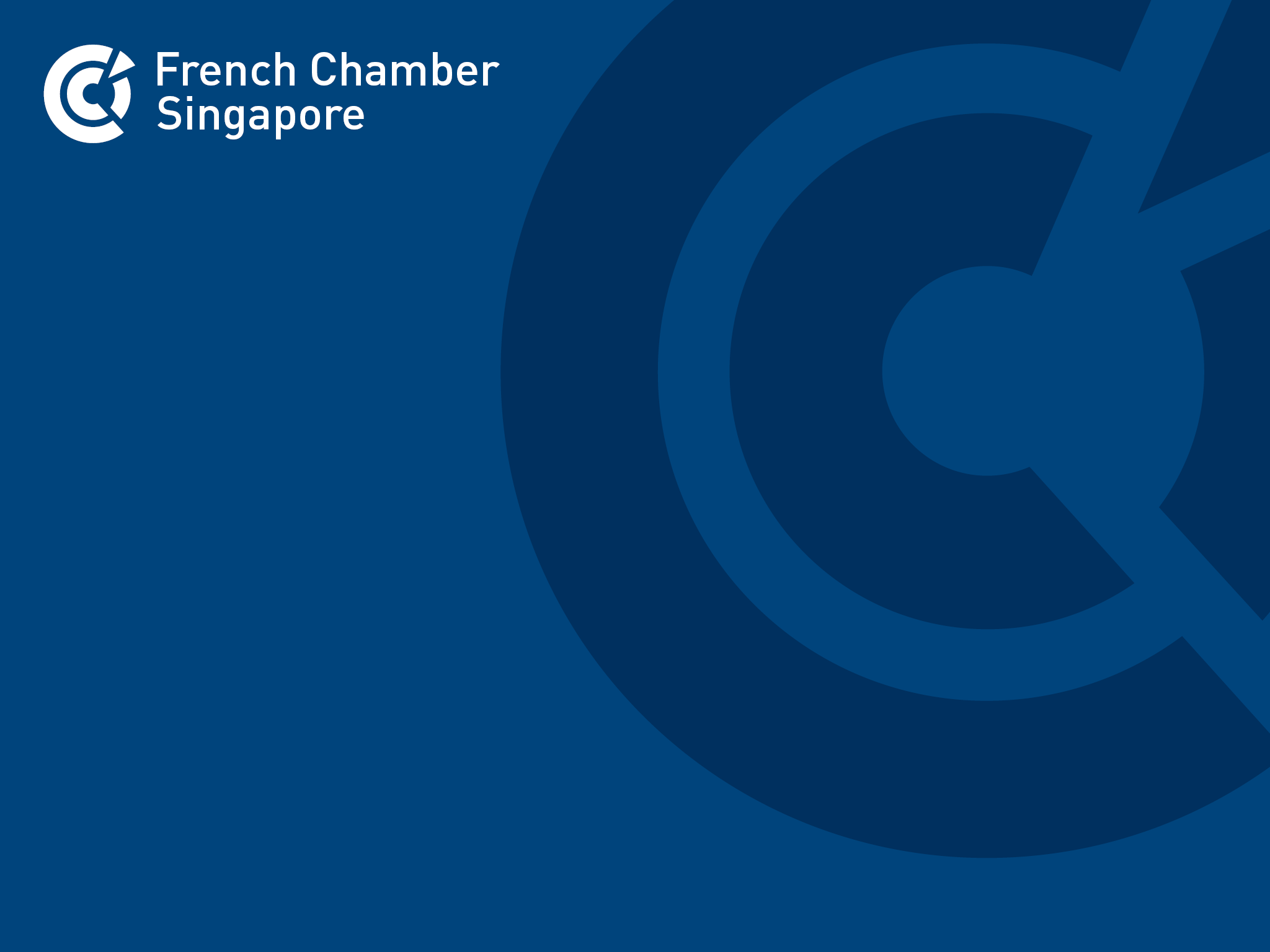 French Chamber Singapore - An extensive portfolio of initiatives to boost the development of French businesses in Singapore and South-East Asia.