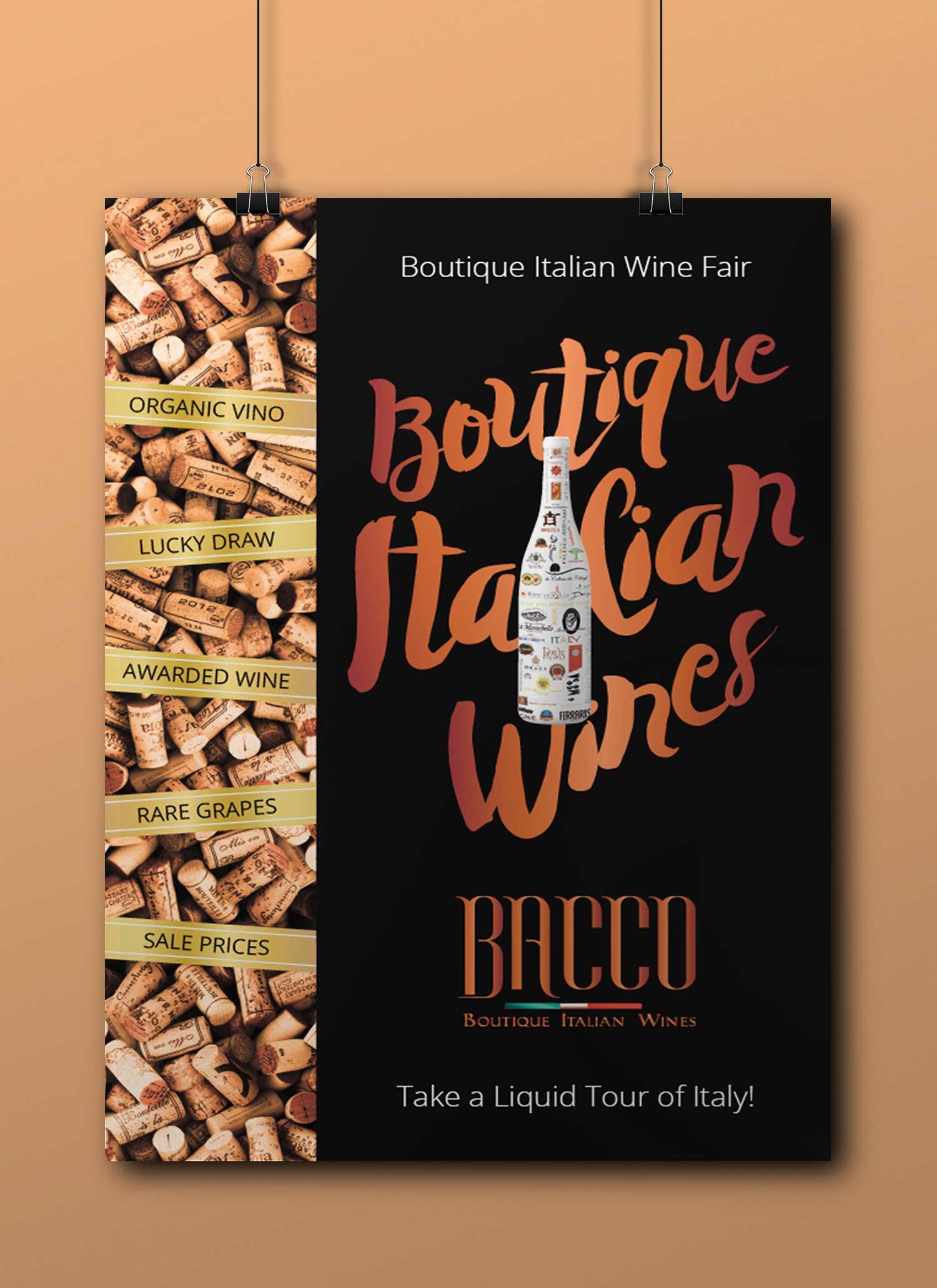 Dégustations devins italiens - Chaque trimestre, Bacco reçoit plus de 250 invités qui goûtent une vingtaine des 300 et quelque vins disponibles en ligne. Ceux sont des vins rouges, blancs, rosé, pétillants et doux venant de vignobles bio de toute l'Italie..