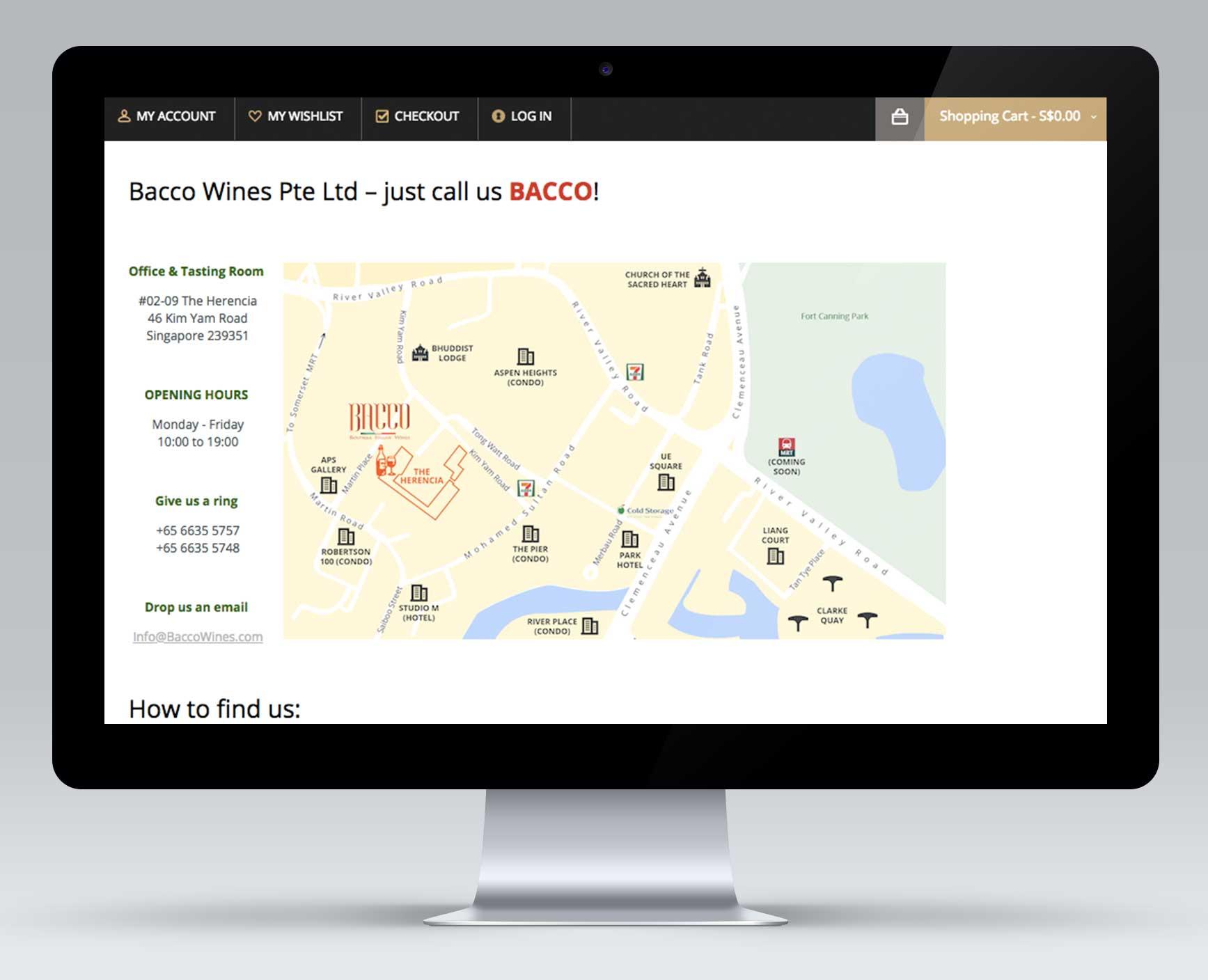 Carte de localisation -
