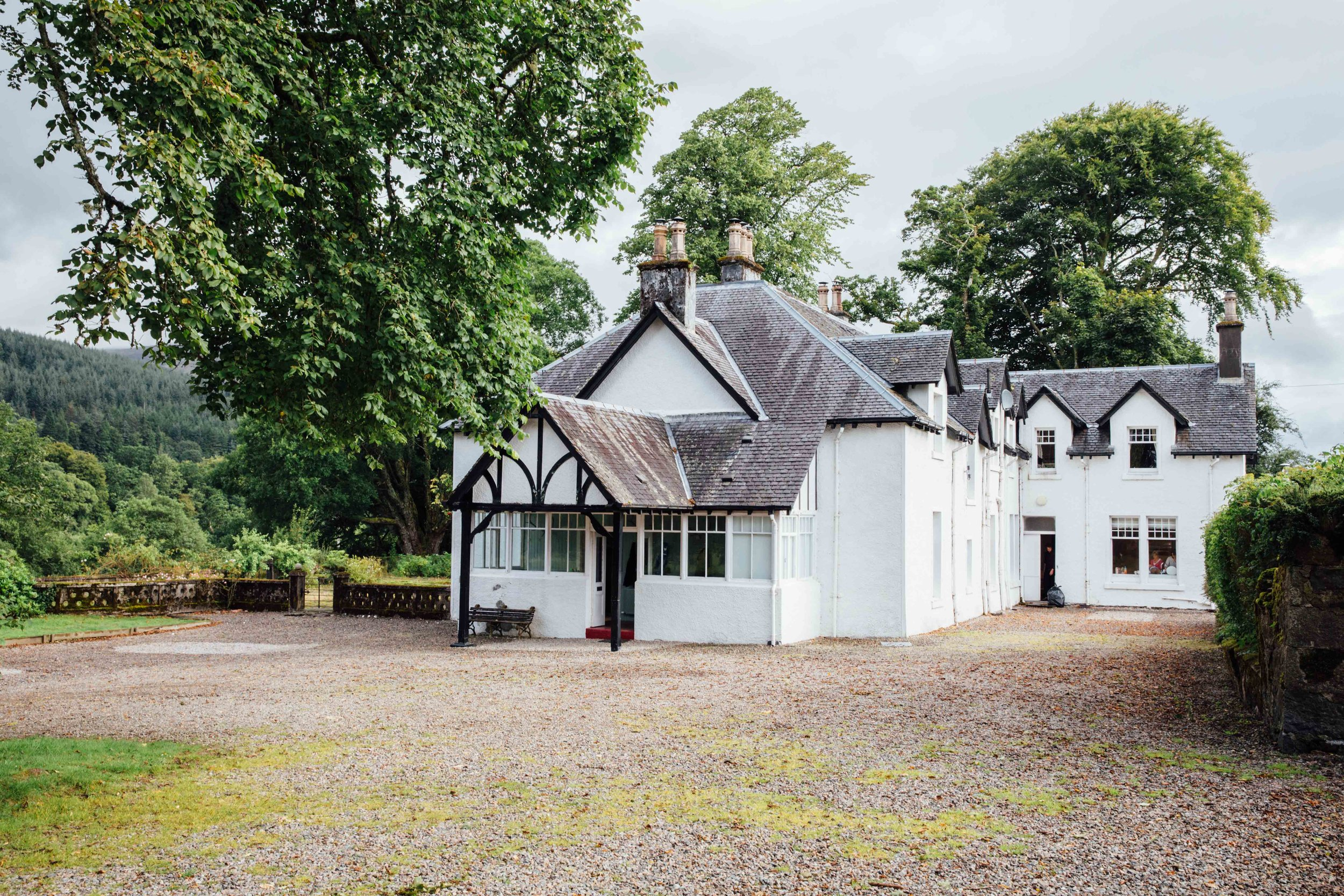 The House - Camisky Lodge is a beautiful Victorian self-catering lodge set within five acres of private land in Torlundy, Fort William, amidst the stunning Inverness-shire countryside on the western coast of Scotland. The house has currently undergone an extensive refurbishment programme, which now offers a luxurious experience in a tranquil setting.