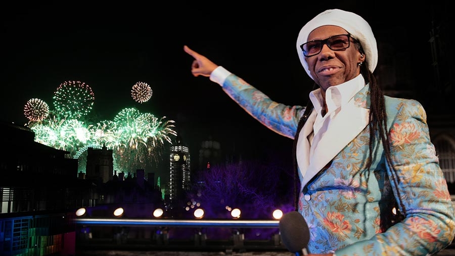 CHIC & Nile Rogers NYE London - BBC TELEVISION