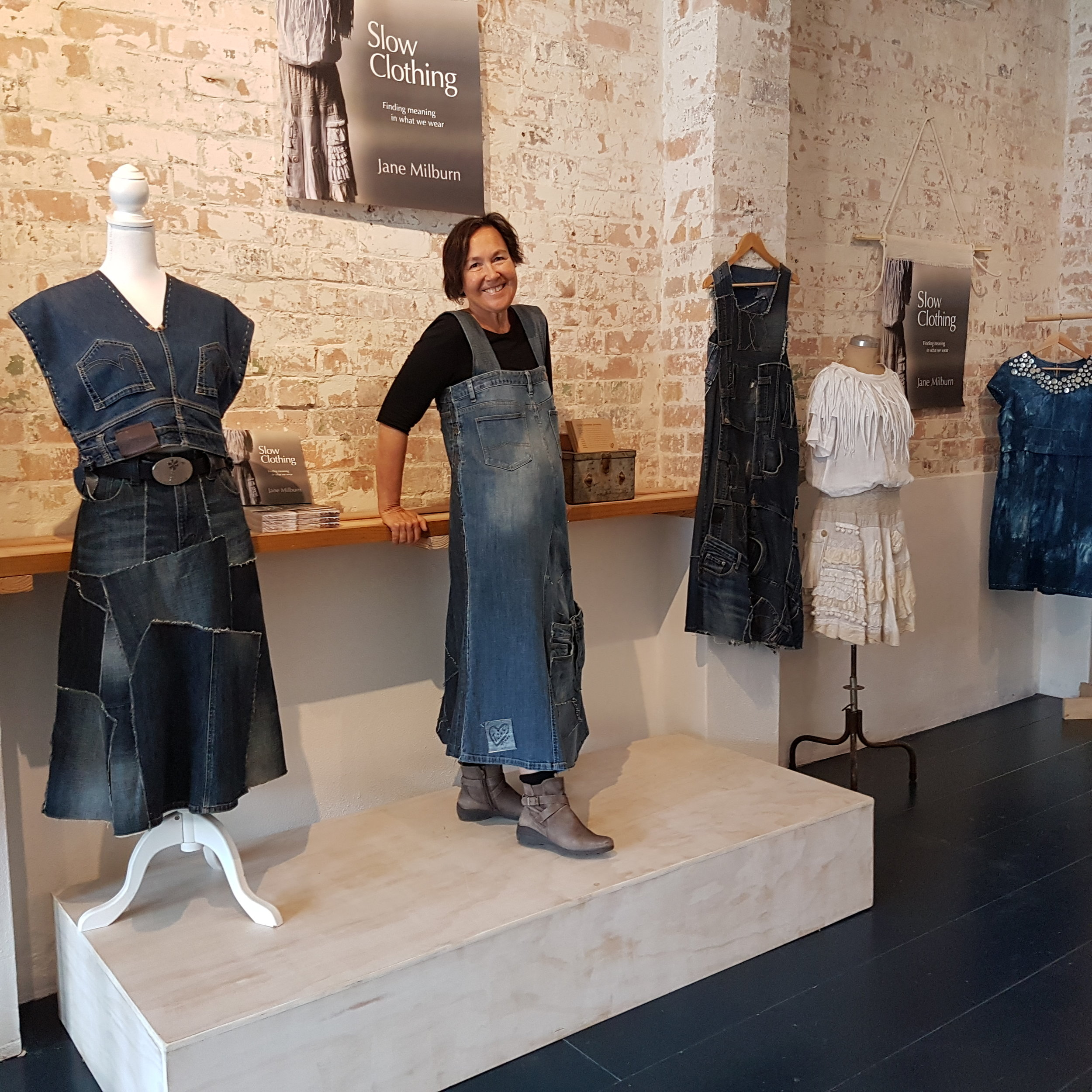 Jane Milburn with upcycled garments.jpg