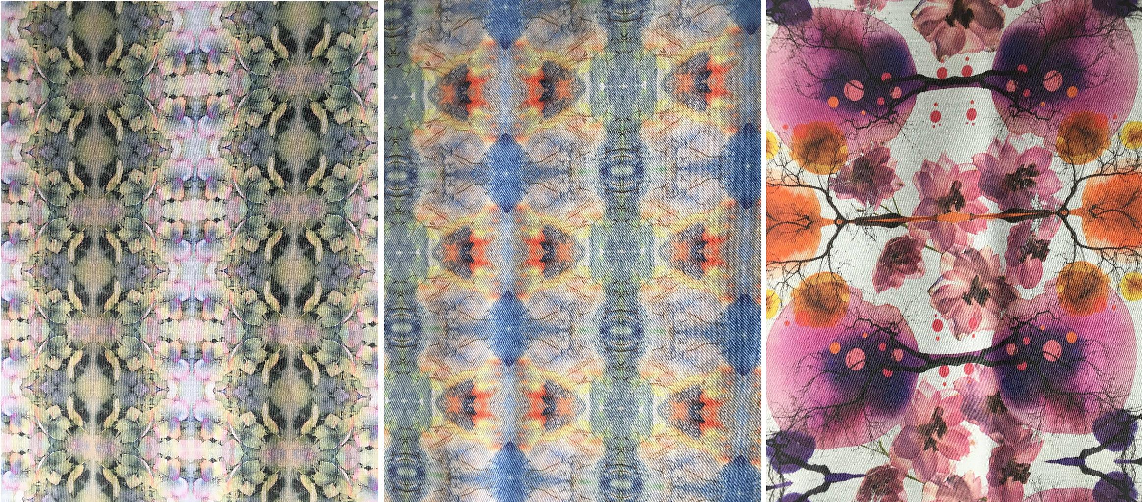 Eco Print - Cotton - Fractals