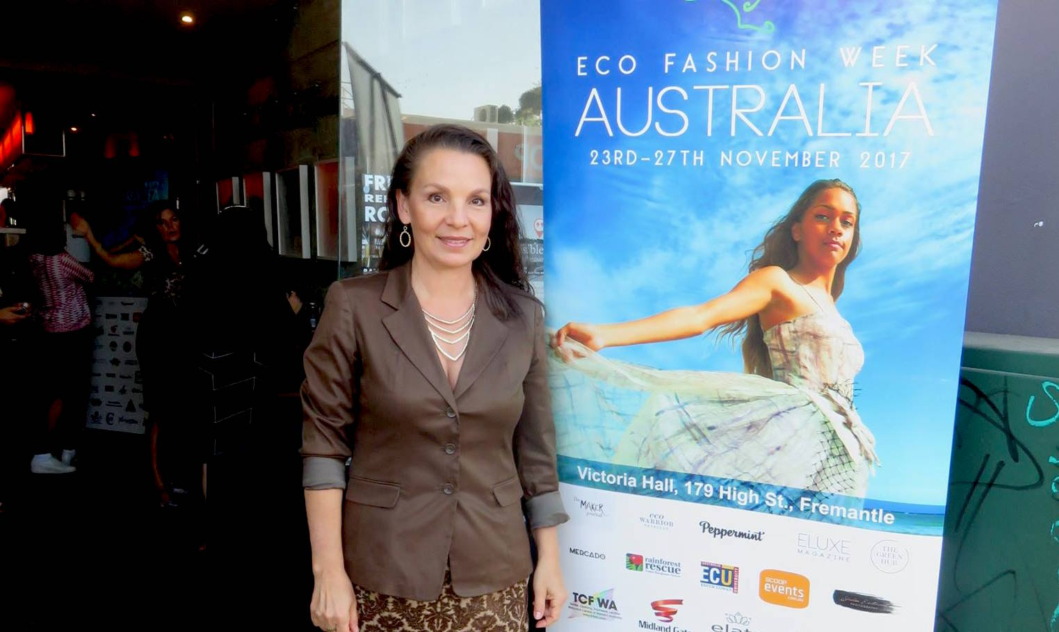 Robbin Whachell during EFWA 2017 in Perth.