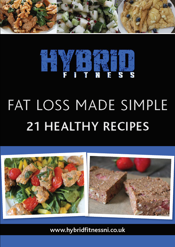 FREE: 21 Simple Fat Loss Recipes