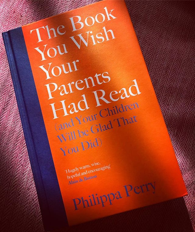 """About halfway through this and it's safe to say I'm never going to win any prizes for my parenting… I thought books like this were supposed to make me feel better about myself?? What I love about these sorts of books/people is the way they encourage you to argue with your partner. You're supposed to say something like, """"It hurts my feelings that I did the washing up this morning and I've had to come back to more washing up tonight."""" Haha no that doesn't """"hurt my feelings"""" - mainly because I don't have any feelings, but also because I find the best method of ensuring matrimonial and domestic harmony is to bang the saucepans around the sink with great purpose and temper while doing it my bluddy self in a sulk, until an apology in KitKats is forthcoming. Passive aggressive for LIIIIFE🙌👌🙌👌!!!! And a not remotely damaging model of behaviour for our children, I'm sure💅"""