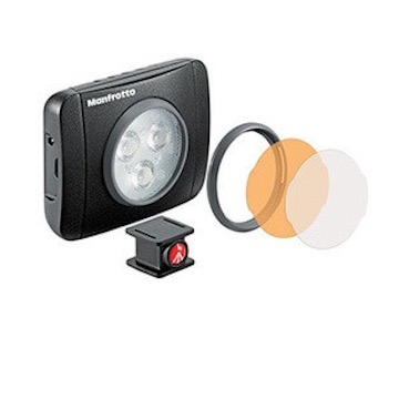Manfrotto Lumimuse   Beautiful, powerful and supremely portable LEDs for lighting your photos and videos.   From £45.95