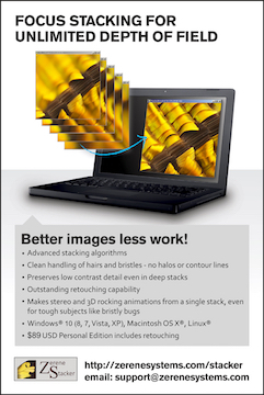 """Zerene Stacker   Zerene Stacker is """"focus stacking"""" software designed specifically for challenging macro subjects and discerning photographers. Download your free 30-day trial.   From $89"""