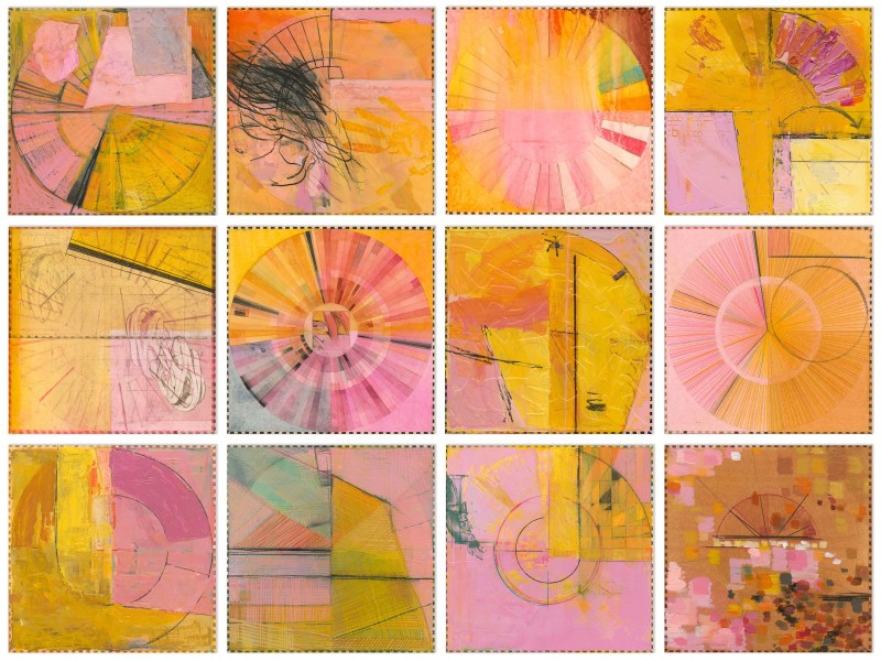 Pink Angels Rotated 90 Degrees Counterclockwise,  Ellen Heck