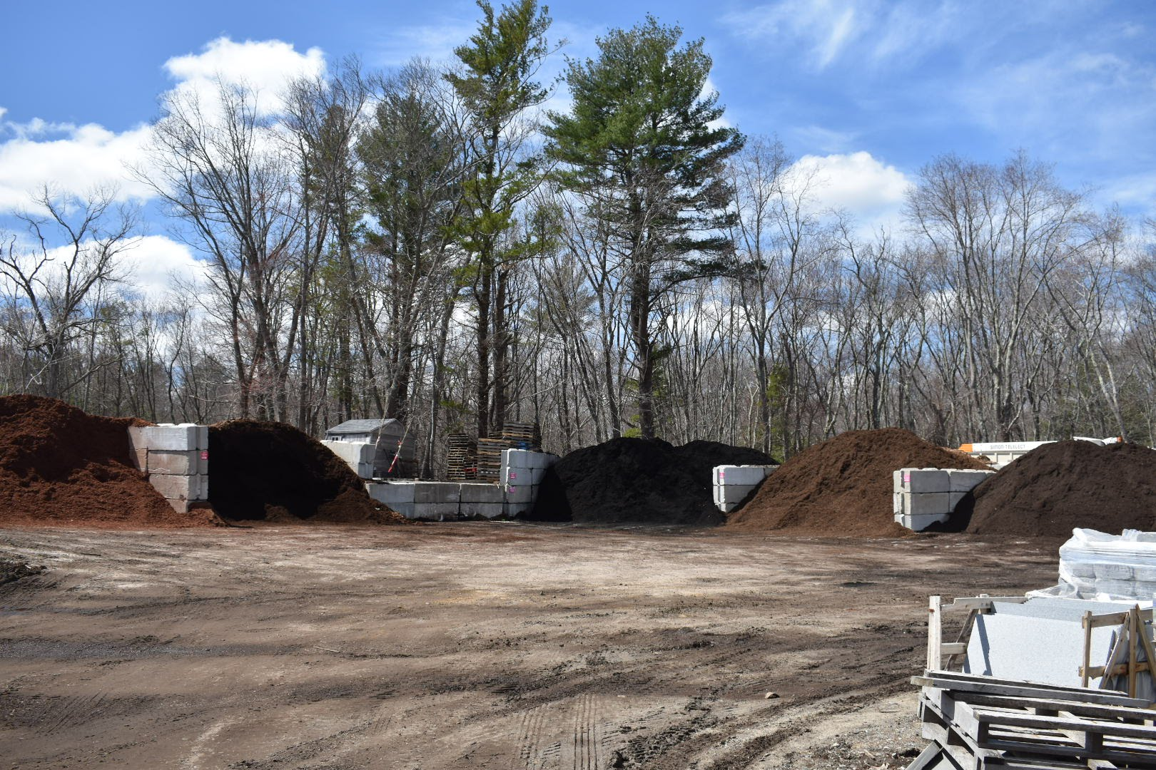 BULK MATERIALS   Start your project off right with our assortment of loam, stone, mulch, and more. Click below for pricing and selection.