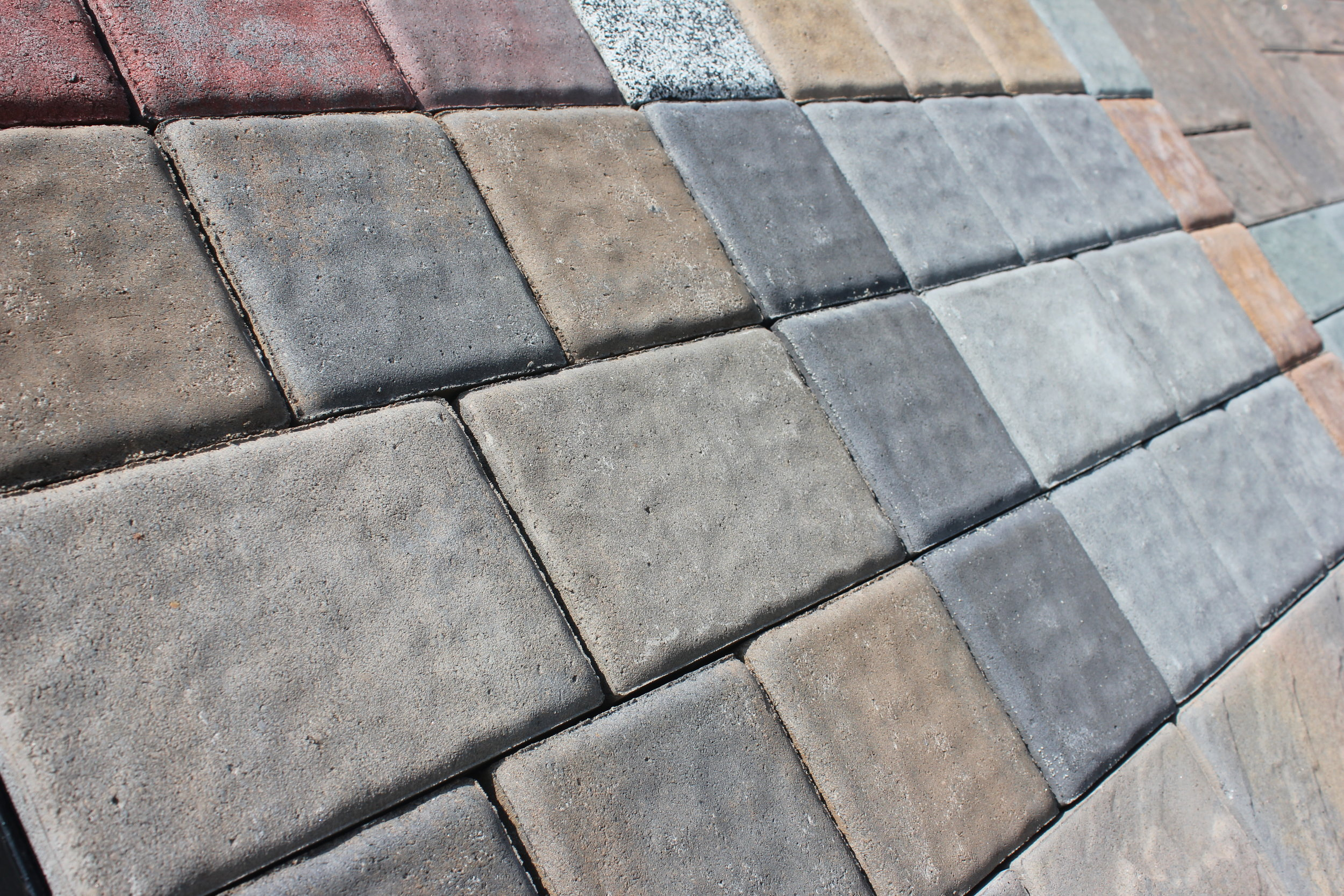 PAVERS   Our Ipswich location sells pavers from Belgard and Cambridge, with many styles stocked regularly. Please call or stop by for more details.