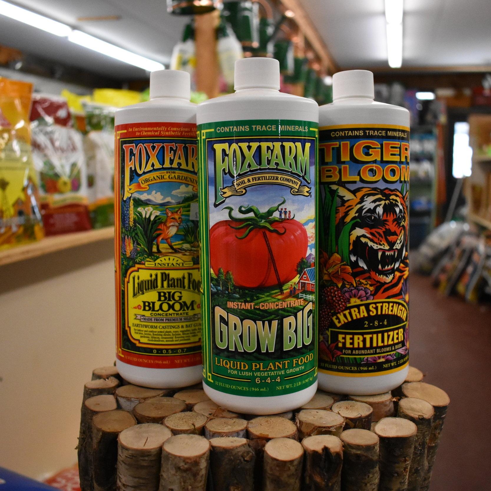 Fox Farm Fertilizers and Soils