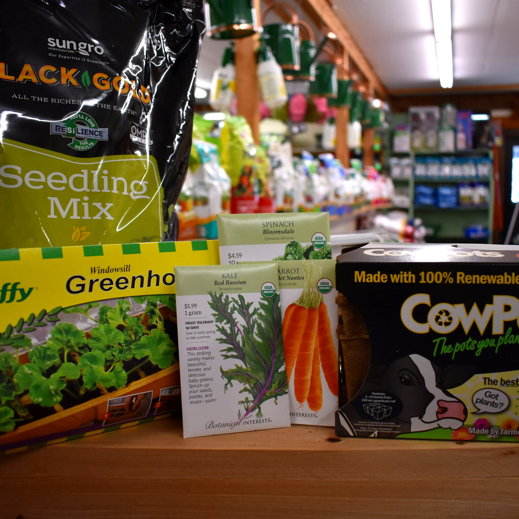 Seed Starting Supplies — Many Organic Options!