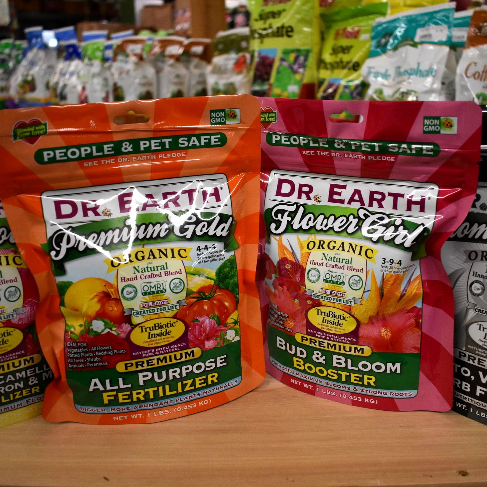 Dr. Earth Organic Fertilizers