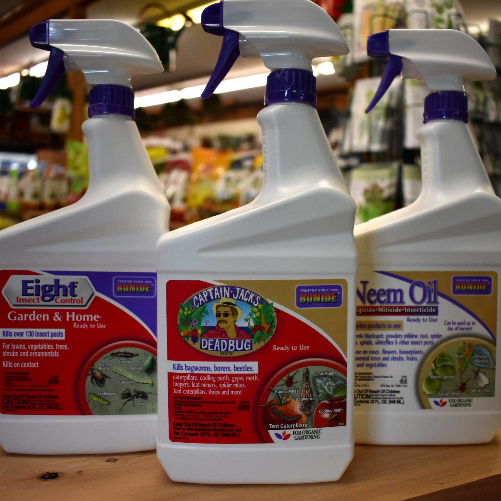 Bonide Insecticides — Many Organic Options!