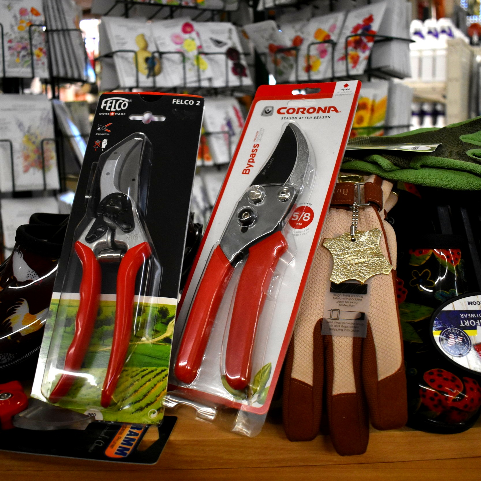 Quality Pruners, Gloves, and Many More Gardening Supplies!