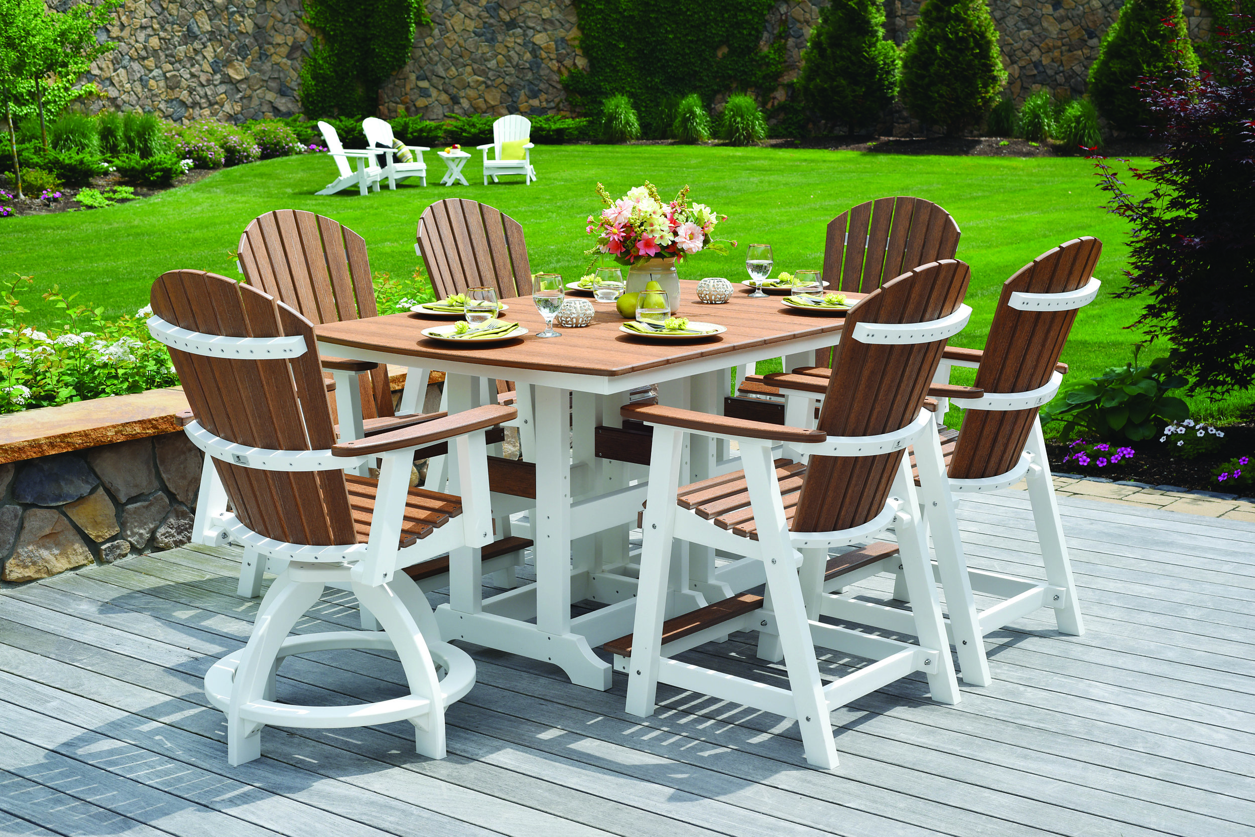 Garden Classic Collection - Classic All-Poly Dining Sets, Tables & Seating