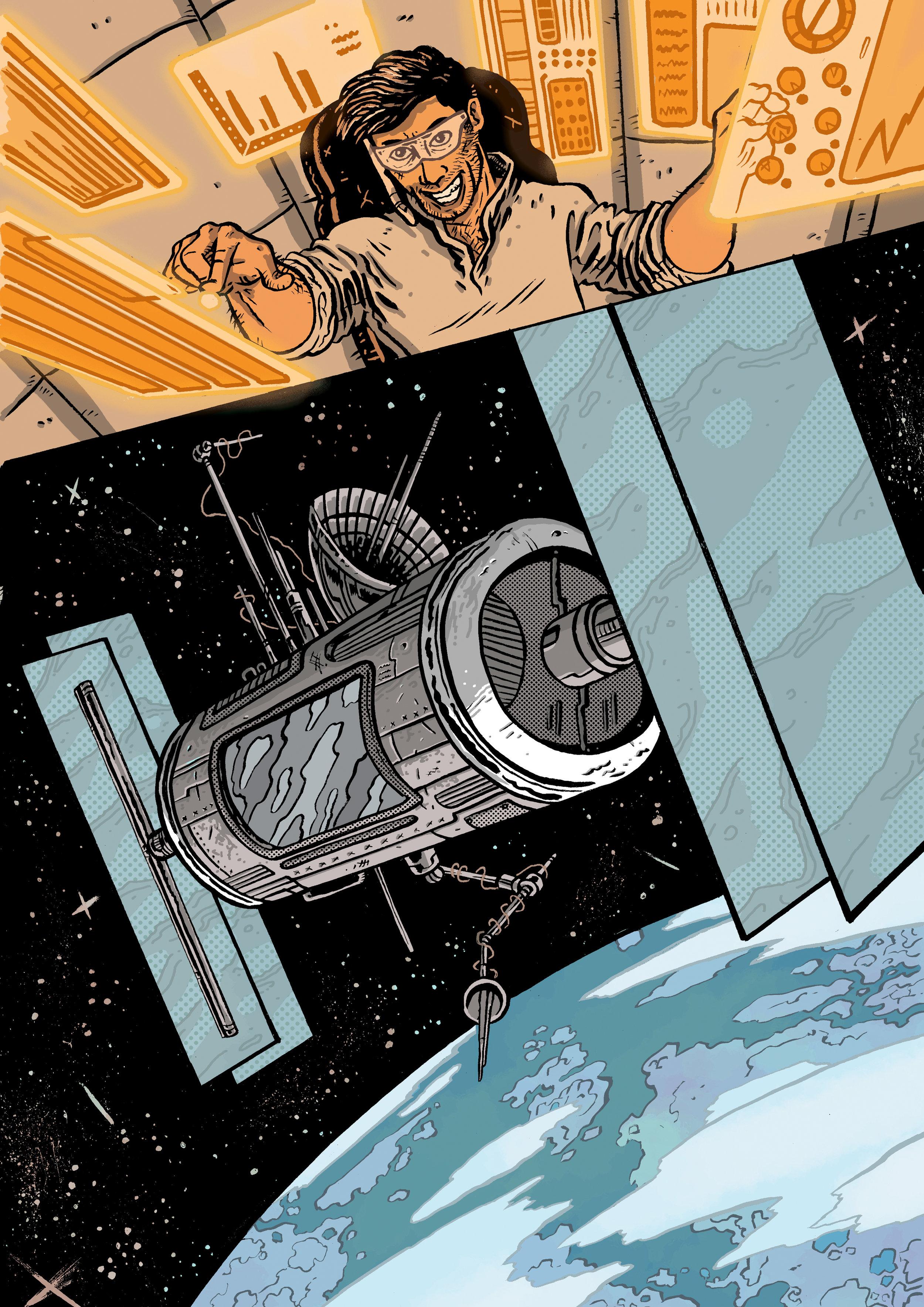 Illustrated by Luca Vassallo