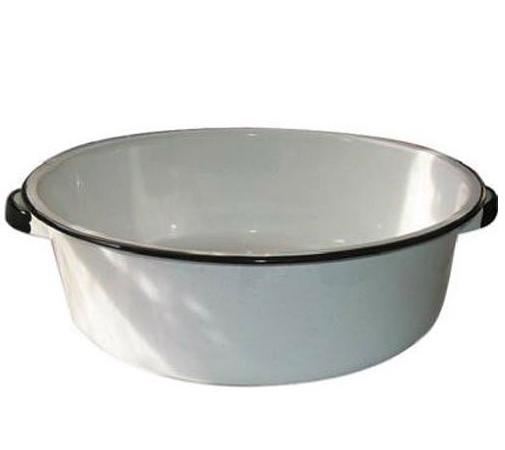 Enamel Dish Bin