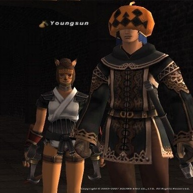 Just a couple of kiddos adventuring in Vana'diel
