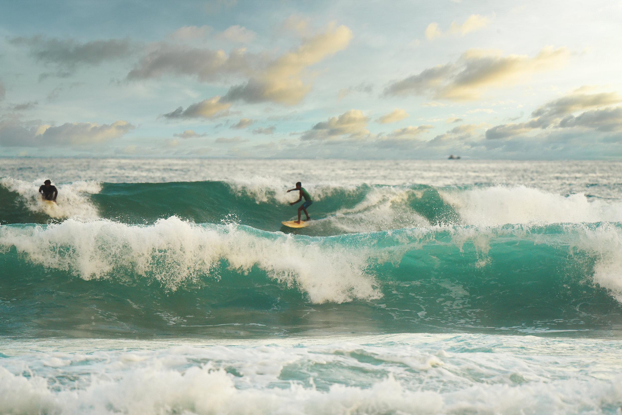 Midigama surfer