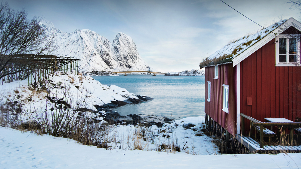 Cabin Lofoten Islands Norway