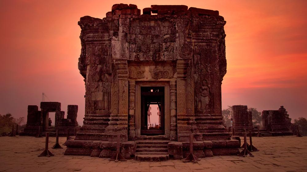 Angkor Wat Cambodia sunrise temple