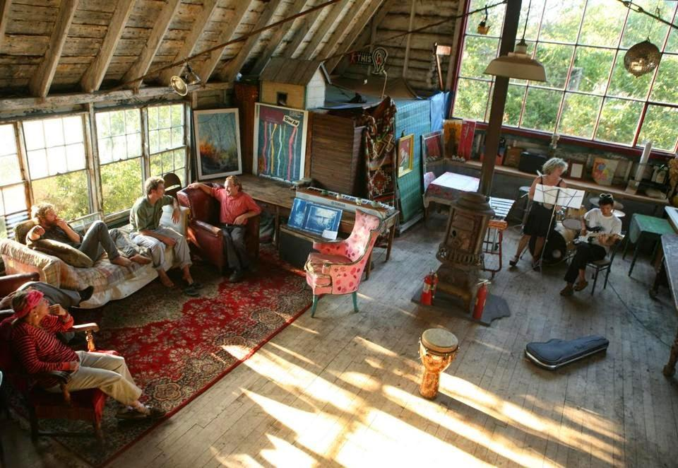 Art in the Barn with Joshua Prager and Julia Glass
