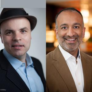 J.T. Rogers and Rajiv Chandrasekaran, June 2018