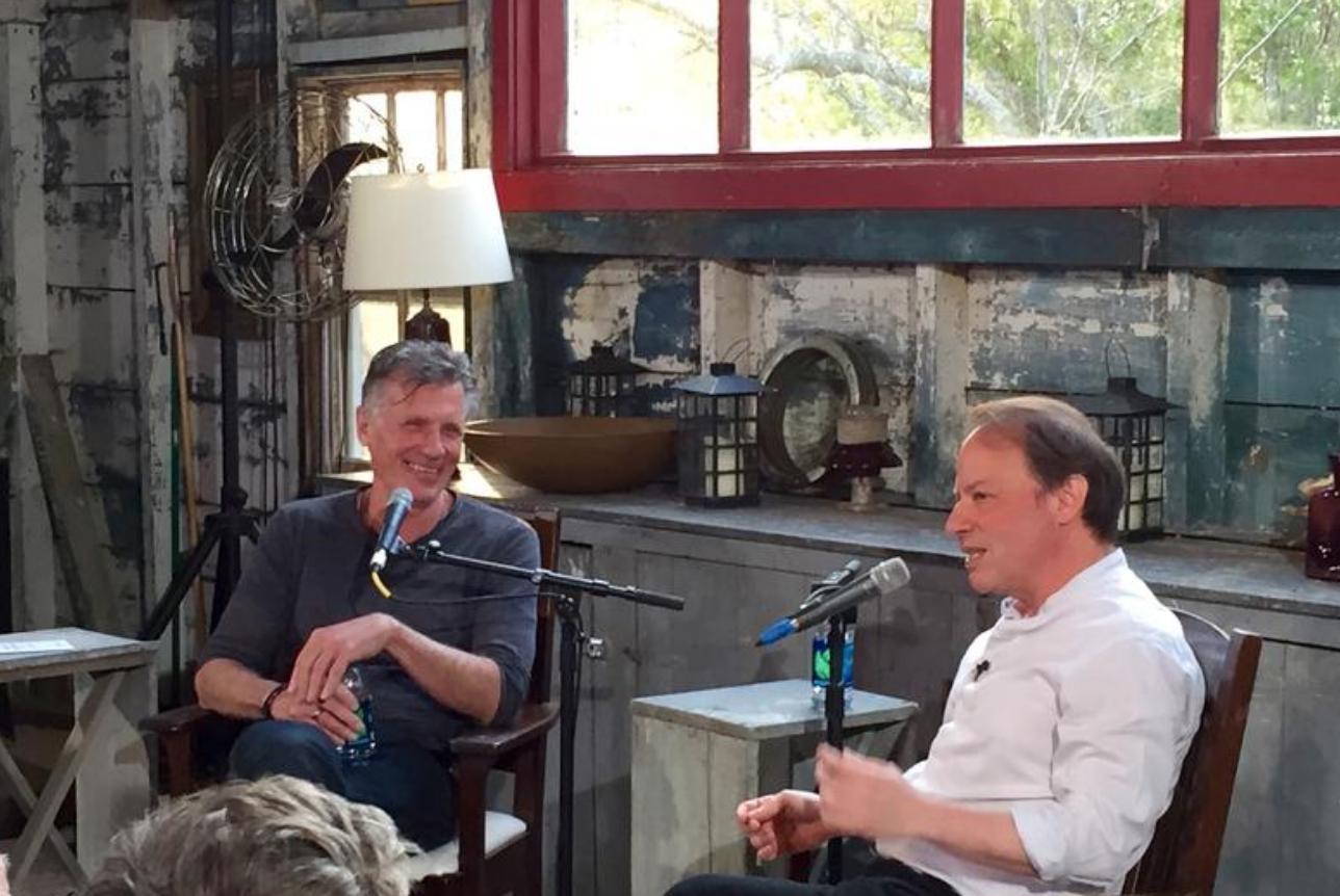 Michael Cunningham and Adam Gopnik, May 2015
