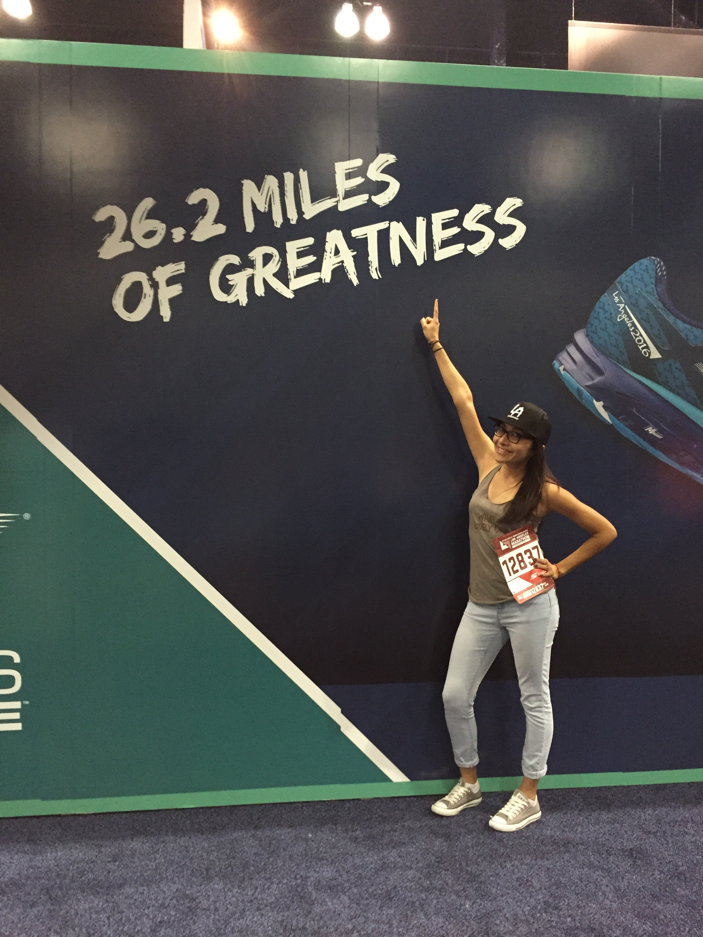 """- """"Running becomes a mental challenge after a few miles, but once you cross that finish line, you feel invincible, powerful, and fearless. I hope everyone that runs with me feels that same way because it is an amazing feeling.""""-Itzel Magana"""