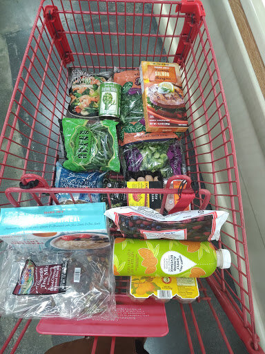 Shawnie's Meal Plan - Challenge: $75.00 Total Spent: $57.53Meals PlannedGround Turkey Patty w/ Broccoli and String Beans (Serves 4)Salmon Patties w/ Artichoke Hearts and Kale (Serves 4)Shrimp Stir Fry w/ Vegetables (Serves 2)Protein Shake w/ Berries and Almonds Milk (Serves 4)Pasta w/ Italian Sausage and Vegetables (Serves 6)2 Boiled Eggs, Apples & Trail Mix (Serves 6) w/ trail mix left over