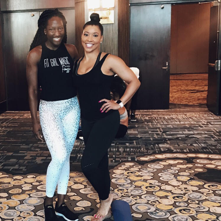 CaCera worked out with Jeanette at the National Black MBA Association Convention in Houston, TX. What she loved most? That Jeanette's yoga session felt like it was truly achievable for anyone - regardless of their fitness level.