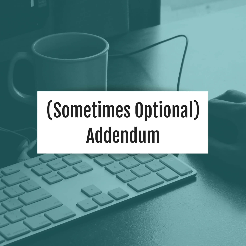 sometimes-optional-addendum