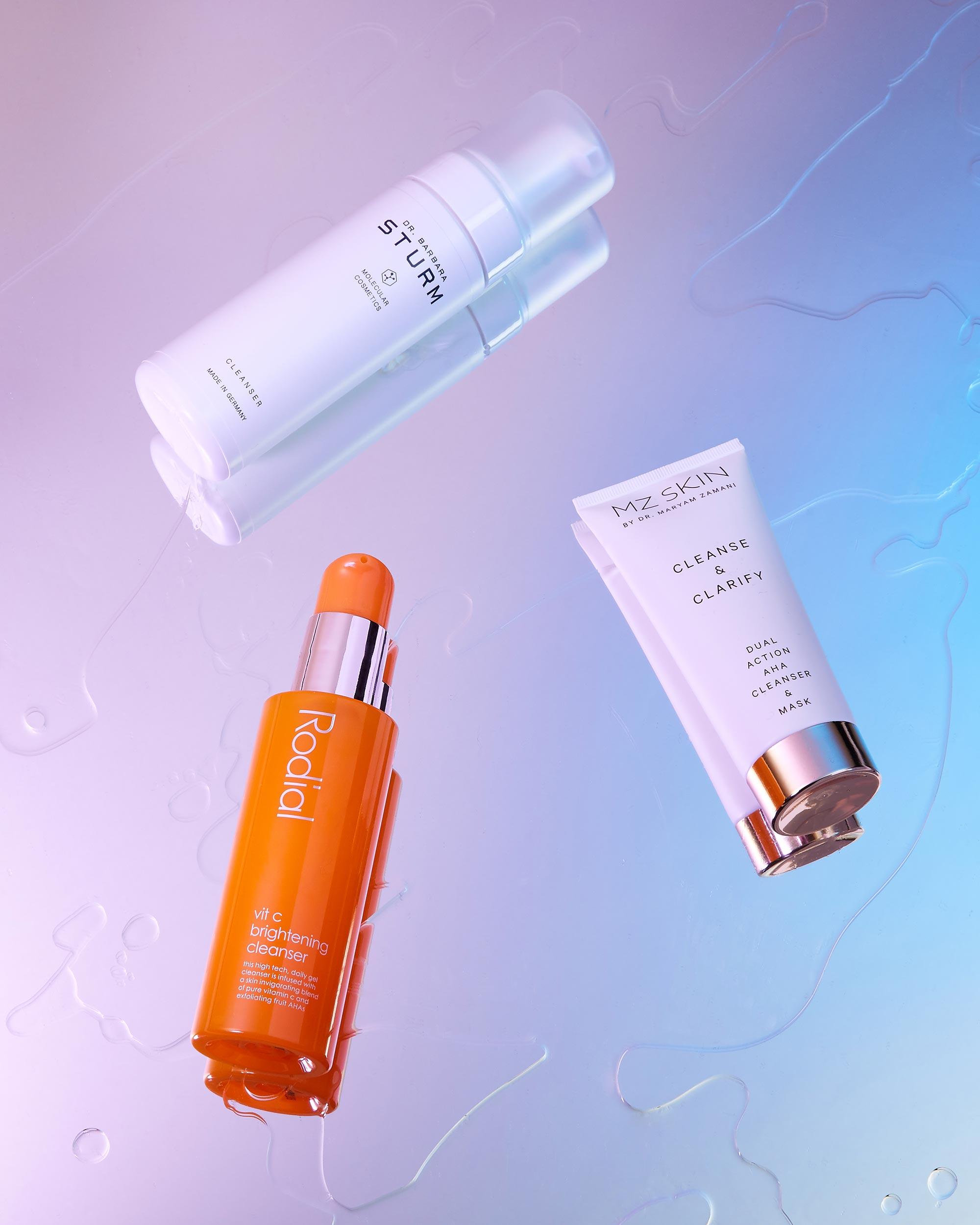 Dr-Barbara-Sturm-Cleanser-Mz-Skin-Maryam-Zamani-Cleanse-Clarify-Rodial-Vit-C-Brightening-Cleanser-Creative-Photography.jpg
