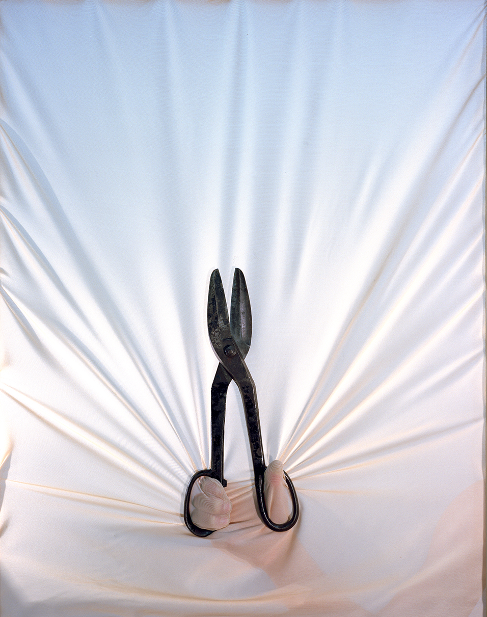 Shears , 2013 Archival pigment print 34 x 27 inches   ————
