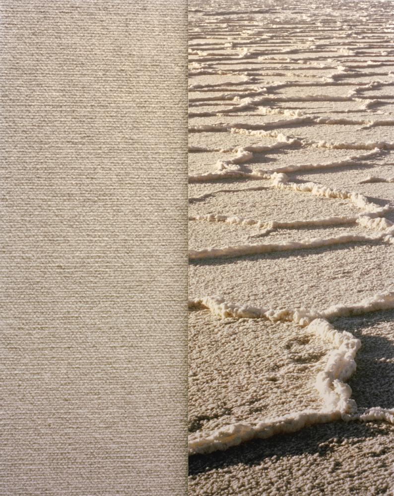 Salt Carpet , 2010 Archival pigment print 34 x 27 inches   ————
