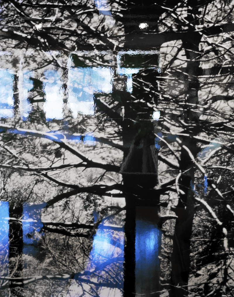 Black and Blue , 2010 Archival pigment print 34 x 27 inches   ————