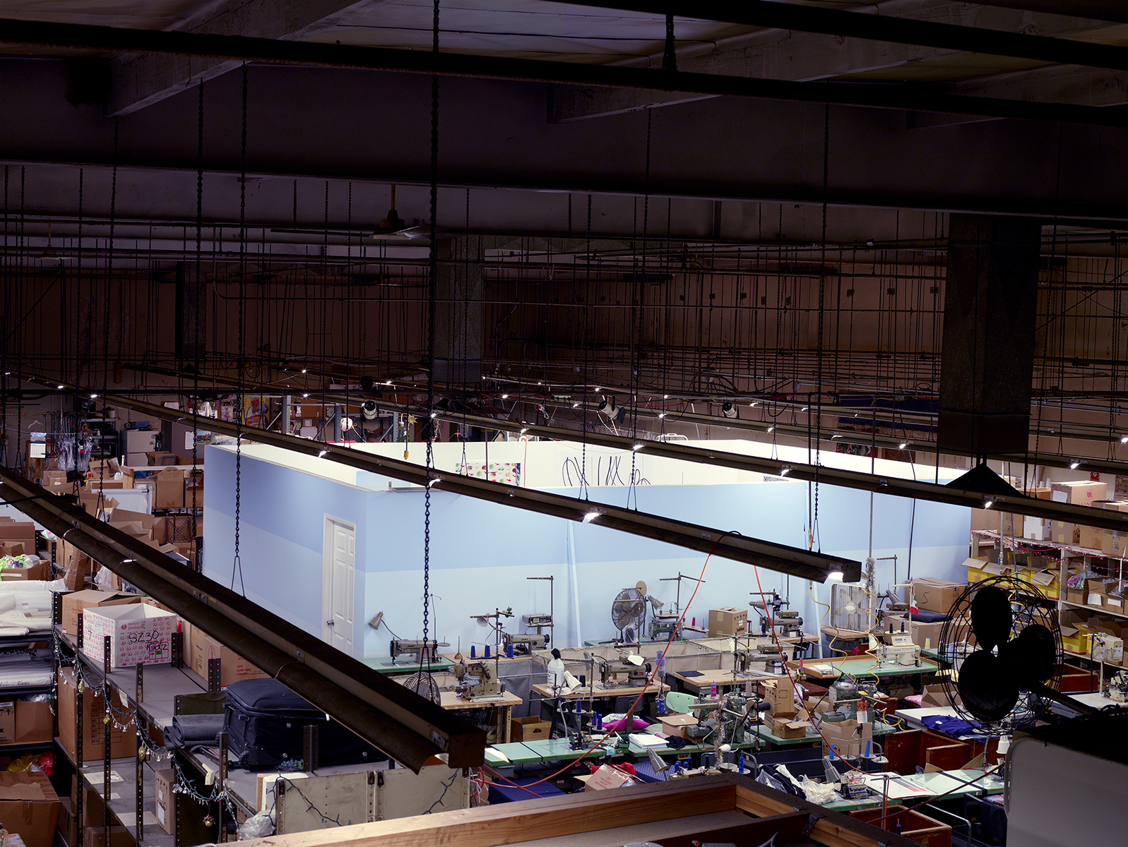 Bikini Factory/Studio (Elevated Perspective) , 2013 Archival pigment print 20 x 25 inches   ————