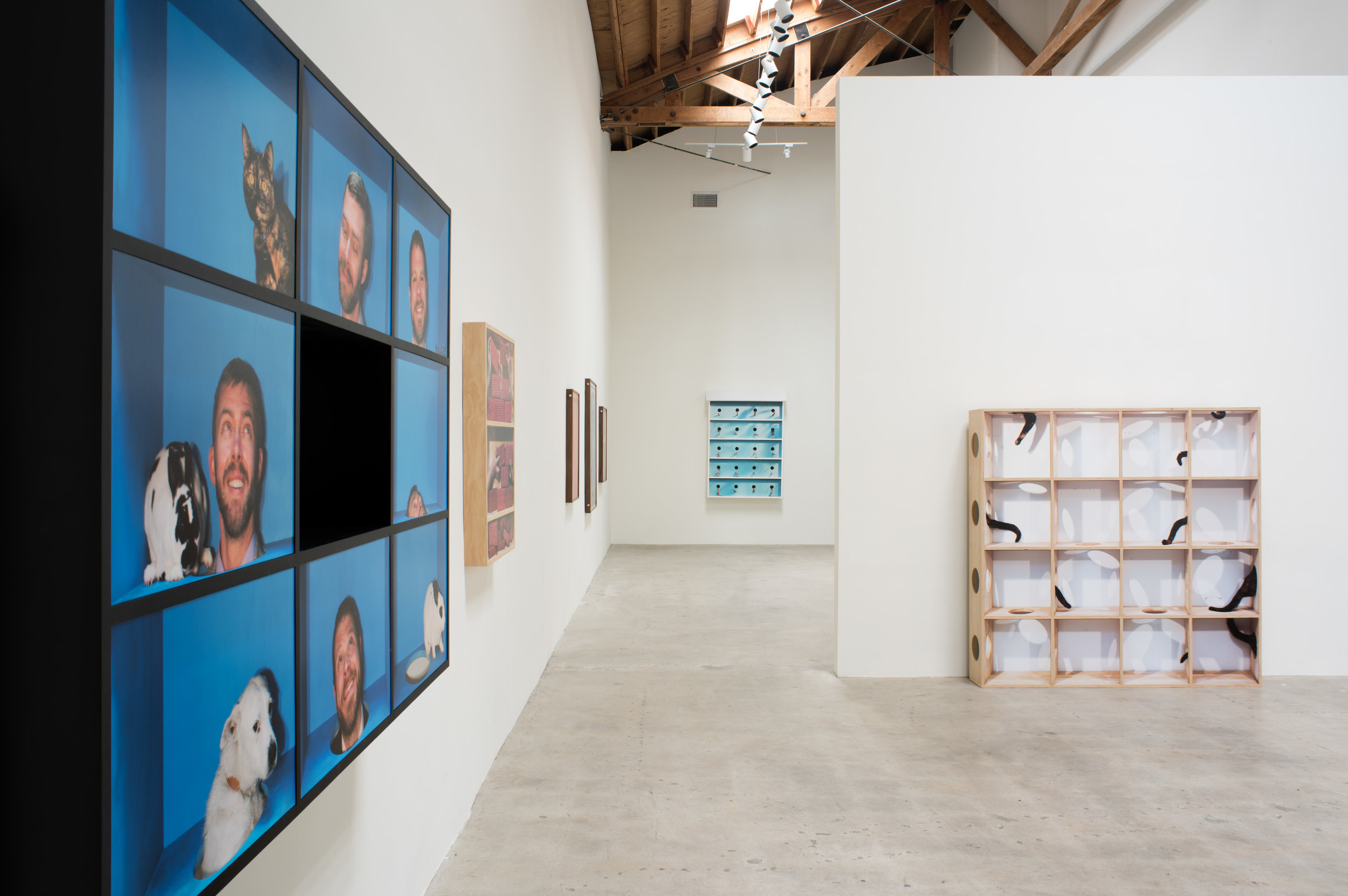 Installation View  Performance Anxiety  May 11 - June 29, 2019 Moskowitz Bayse, Los Angeles   ————