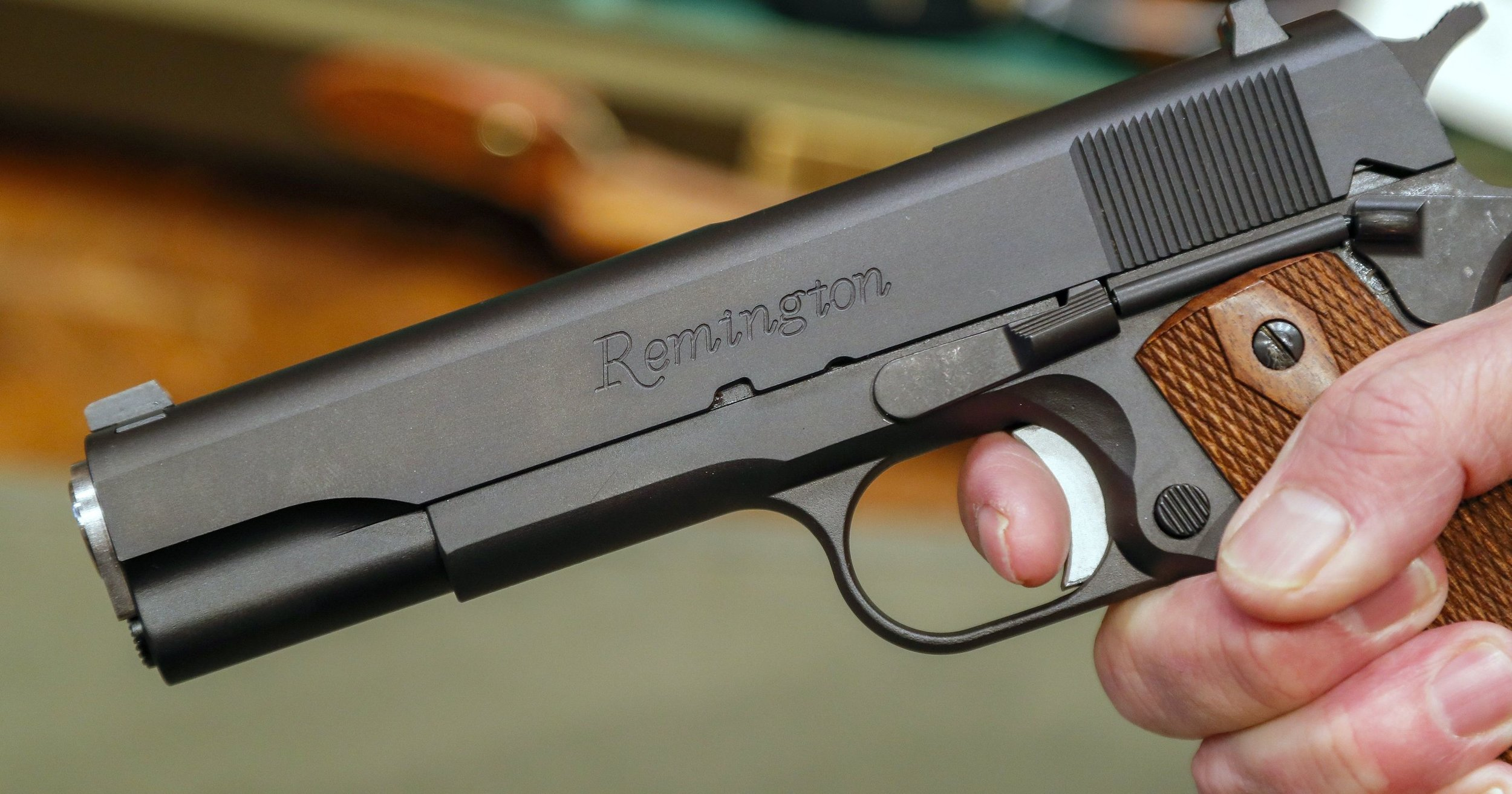This is a gun. The CDC reported Friday that DON'T EAT IT! IT'S MADE OF METAL!