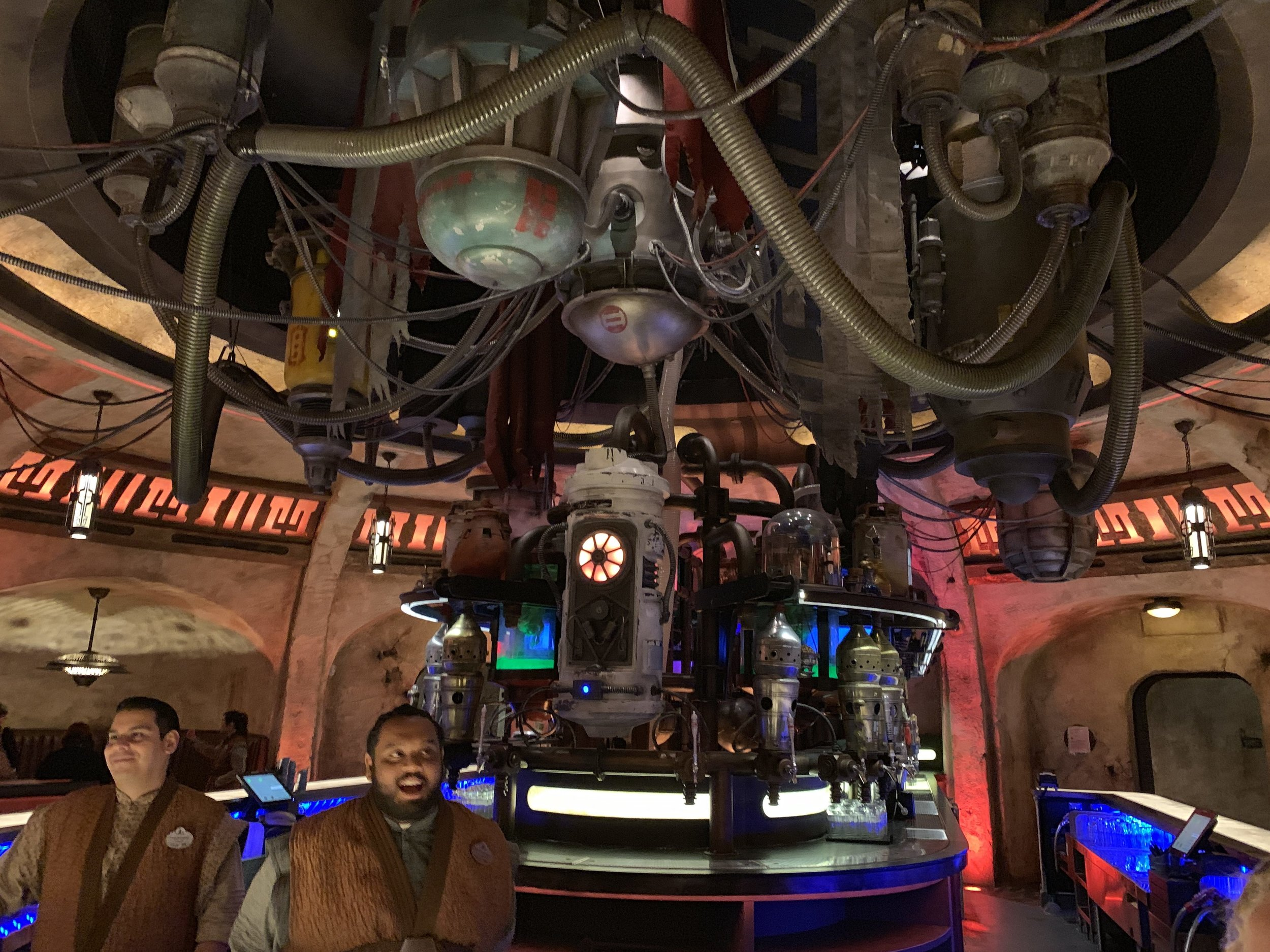 Inside Oga's Cantina is equality fun to explore