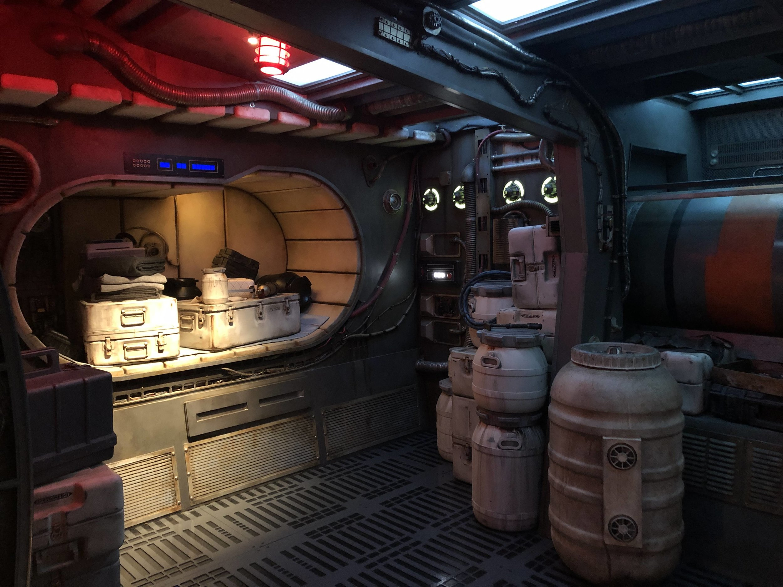Inside the Millennium Falcon