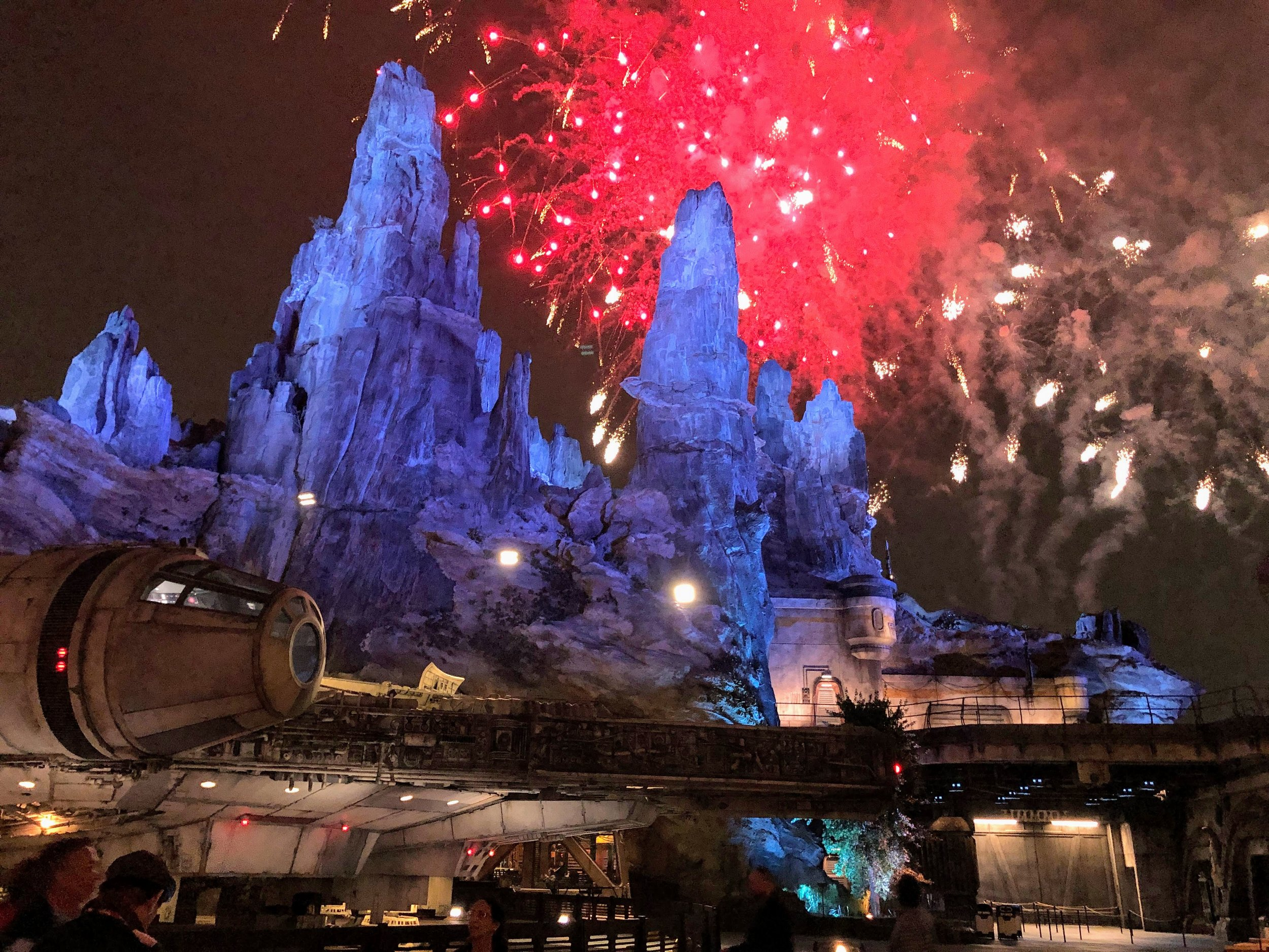 Fireworks in front of the castle? Nah, I'll take this view instead.