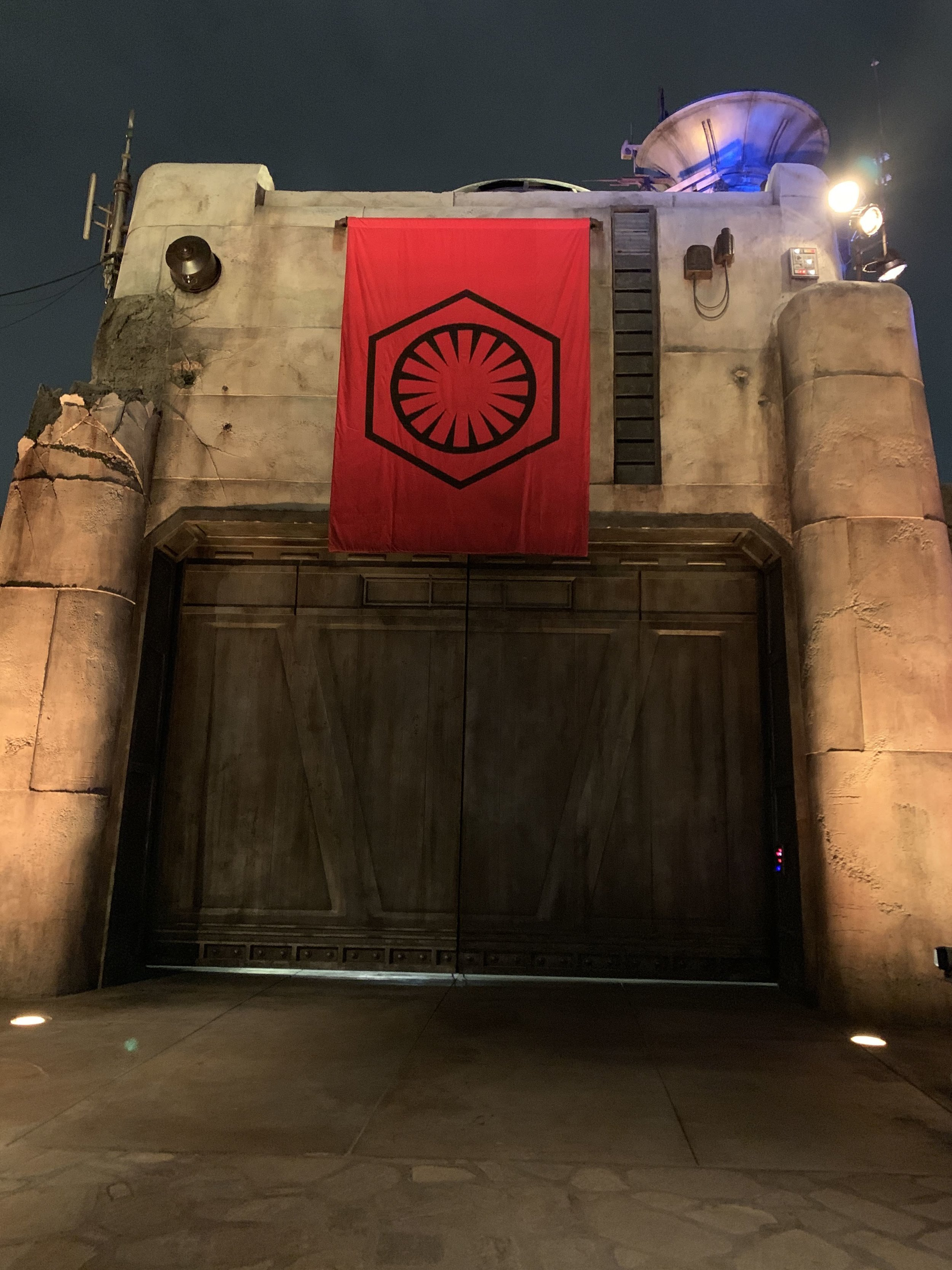 The First Order's base