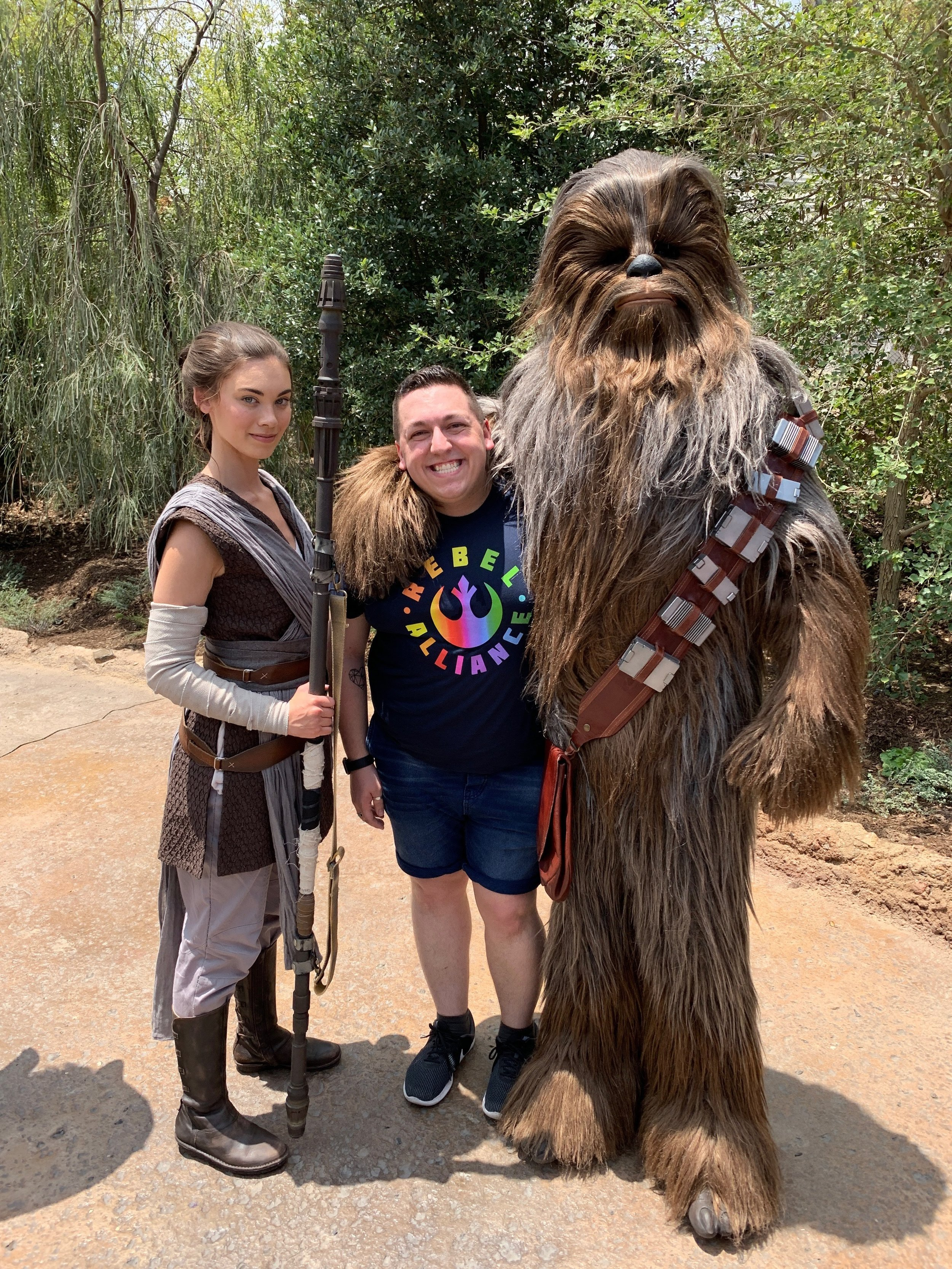 All   I wanted was a photo with Chewbacca so needless to say, I was thrilled after this
