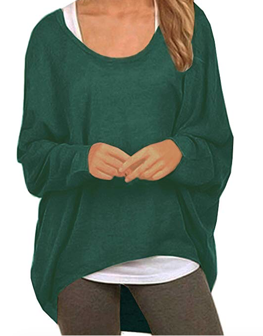 UGET LIGHTWEIGHT SWEATER - DEEP GREEN -